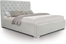 Upholstered Ottoman Bed Frame Wrought Studio