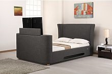 Upholstered TV Bed Ophelia & Co.
