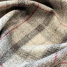 Upholstery Fabric - 100% Shetland Wool Curtain