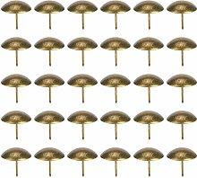 Upholstery Nail Cyan Bronze Iron Plating