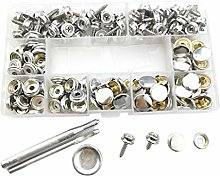 Upholstery Snap Buttons Replacement 60 Sets Screw