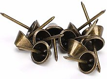 Upholstery Tacks, Antique Brass Color Iron