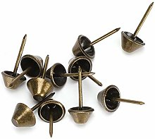 Upholstery Tacks, Iron Material Antique Brass