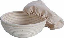 UPKOCH 2 PCS Bread Banneton Proofing Basket Round
