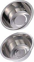 UPKOCH 2pcs Kitchen Strainer Colander Basket