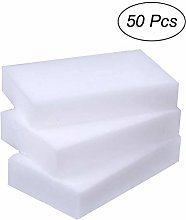 UPKOCH 50Pcs Magic Cleaning Sponge Clean Power