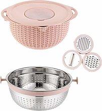 UPKOCH 7Pcs Kitchen Strainer Colander Bowl Set