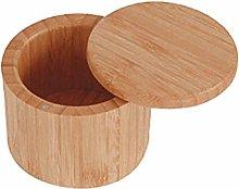 UPKOCH Bamboo Spice Box Wood Seasoning Canister