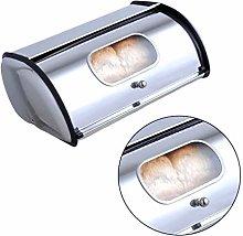 UPKOCH Bread Box Stainless Steel Bread Bin Large