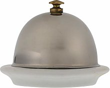 UPKOCH Ceramic Butter Dish with Stainless Steel