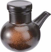 UPKOCH Ceramic Seasoning Jar Soy Sauce Bottle
