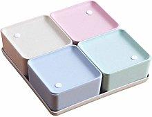 UPKOCH Cereal Storage Box Set Kitchen Food Grain