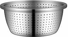 UPKOCH Drain Bowl Rice Washing Bowl 304 Stainless