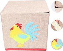 UPKOCH Fabric Storage Bin Clothes Storage Basket