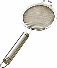 UPKOCH Fine Mesh Strainer with Long Handle for