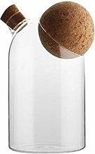 UPKOCH Glass Storage Jar Kitchen Food Storage