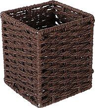 UPKOCH Hand- Woven Seagrass Storage Basket Wicker