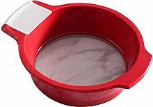 UPKOCH Kitchen Flour Strainer Mesh Four Sifter
