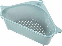 UPKOCH Kitchen Sink Storage Basket Drain Plastic
