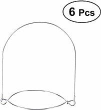 UPKOCH Mason Jar Hangers Stainless Steel Wire