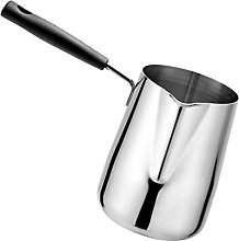 UPKOCH Milk Frothing Pitcher Stainless Steel