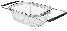 UPKOCH Over The Sink Colander Strainer Basket