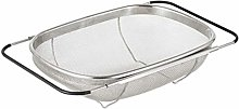 UPKOCH Over The Sink Colander Strainer Basket