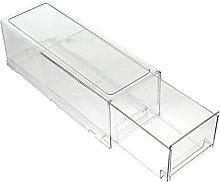 UPKOCH Plastic Storage Bins Drawer Type