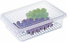 UPKOCH Refrigerator Food Storage Container bin