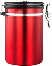 UPKOCH Stainless Steel Container Coffee Beans