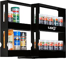 UPP Pull Out Kitchen Storage I 2 Tier Spice Rack