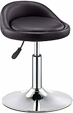 Upscale Lounge Chair Bar Stool, Rotating Cabinet