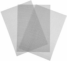 URATOT 3 Packs Stainless Steel Woven Wire Mesh A4