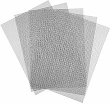 URATOT 5 Packs Stainless Steel Woven Wire Mesh A4
