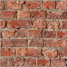 Urban Brick Wallpaper, Red - 696600 - Arthouse