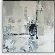 Urban Cityscape - Abstract Framed Canvas Print,