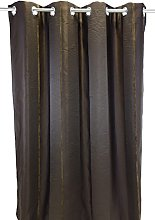 Urban Echo Curtain, Polyester, brown, 280x