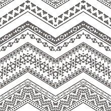 Urban Friends & Coffee Wallpaper Etnico White and