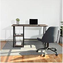 Urban Meuble - Gray wooden desk with 2 storage