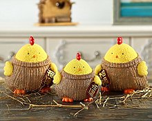 URGrace 3Pcs/Set Lovely Chicken Money Box With