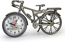 URGrace Vintage Mini Bicycle Model Alarm Clock