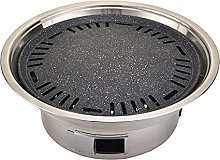 URINGO Stainless Charcoal Grill Portable Round