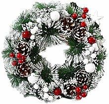 URSING Christmas Wreath Artificial Christmas