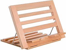 US Art Supply Extra-Large Wooden Bookrack Table