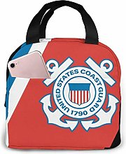 US Coast Guard Sign Lunch Bag Insulated Lunch Box