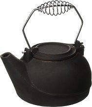 US STOVE CO Kettle Fireplace 3Qt Black, Cast Iron,