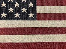 USA America Stars and Stripes Flag Retro Linen