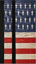 USA Flag Wood Refrigerator Door Handle Covers 2
