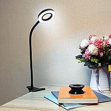 USB Clamp Desk Lamp, Adjustable Clip-on Reading