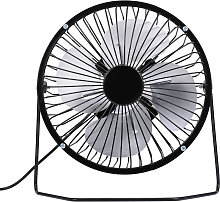 USB Mini Fan Desktop Cooler Fan Quiet Fan Metal